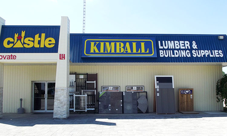 Kimball Building Supplies Storefront